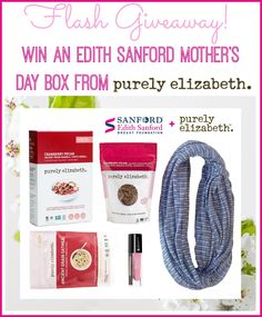 Housewife on a Mission: Gift the Edith Sanford Mother's Day Box This #MothersDay | Flash Giveaway!