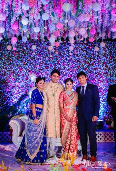 Sister of the Bride - Abhilasha & Divya wedding story Blue Wedding, Trendy Wedding, Luxury Wedding, Wedding Poses, Wedding Photoshoot, Wedding Ideas, Wedding Dresses, Hyderabad, Quinceanera