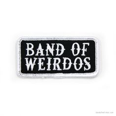 Patch // Band of Weirdos