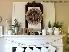 Holiday mantle decor photos - Yahoo! Image Search Results