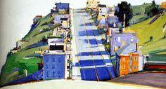 """ Wayne Thiebaud: Californian Landscape """