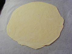 Frøken Andersens madglade side: Indbagt pizza med spaghetti, kødsovs og skinke
