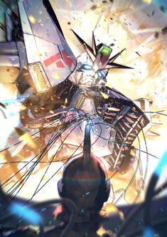 Arte Gundam, Gundam 00, Real Robots, Frame Arms Girl, Mecha Anime, Mobile Suit, Kamen Rider, Animes Wallpapers, Drawings