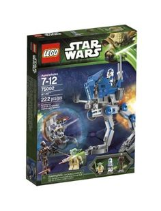 Amazon.com: LEGO Star Wars AT-RT 75002: Toys & Games
