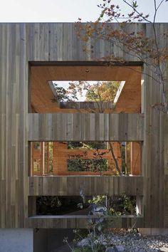 """Nest"" House (2010) | Onomichi-city, Hiroshima, Japan • Keisuke Maeda and Toru Shigehiro, UID Architects."