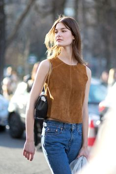 Suede for spring, is in fact, groundbreaking.