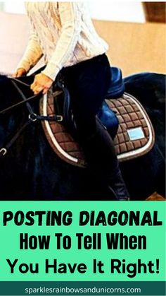 How to tell you have the correct posting diagonal at the trot. I go over the way the horse moves in the trot and which shoulder you want to rise with, as well as how to learn to rise on the correct diagonal without looking. Click the link to read the post! Moving Forward, To Tell, Equestrian, Horse, Group, Reading, Shoulder, Link, Board