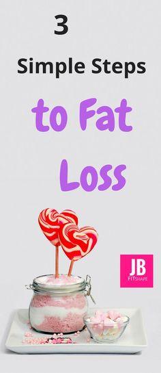 3 Simple Steps to Fat Loss Weight Loss | Lose Weight | Diet | Burn Fat https://jbfitshape.wordpress.com/2017/07/07/3-simple-steps-to-fat-loss/