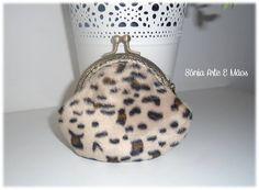 Porta moedas Leopardo