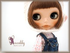 ** Blythe outfit ** Lucalily 525 **_画像1
