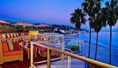 The Inn at Laguna Beach-- roof top bar-  Laguna Beach, California