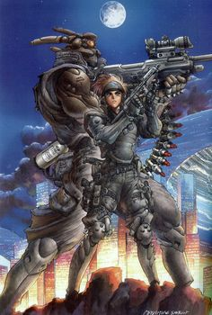 masamune shirow    ?????????????? I dont understand Oh yeah i do!! Lol brain fart!   Coolsies!!!
