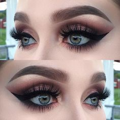 I used @toofaced sweet Peach palette (shadows: candied Peach, Georgia, Charmed I'm sure, summer yum, peach pit, nectar and Bellini)   @inglot_sweden eyeliner gel 77 and kohl pencil 01   @diamond_japney lashes desired   @anastasiabeverlyhills dipbrow pomade in taupe and a tiny bit of brow powder granite ✨ #makeupjunkie #toofaced #makeupmafia #makeupartistsworldwide #makeupartist #mua #makeupaddict #vegas_nay #hudabeauty #dressyourface #fiercesociety #wakeupandmakeup