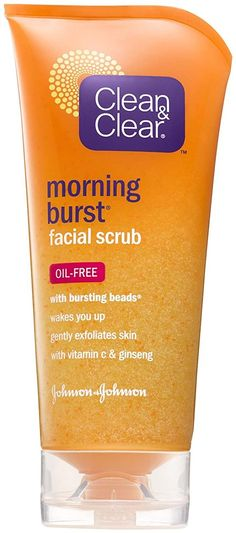 Clean and Clear Morning Burst Facial Scrub - Original - 5 oz -- New and awesome product awaits you, Read it now  : Face Exfoliators, Polishes and Scrubs