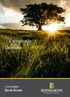 Podemos fazer a diferença preservando a natureza.