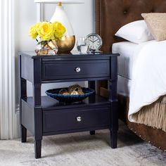 Jerry 2 Drawer Nightstand & Reviews | Joss & Main