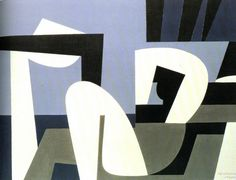 Yannis Moralis / Γιάννης Μόραλης is an outstanding figure in Modern Greek painting. He became a professor at the School of Fine Arts at a very early age and for years taught the younger generations of Greek painters. Abstract Expressionism, Abstract Art, Greek Paintings, Acrylic Paintings, Fine Arts School, Ellsworth Kelly, Black And White Sketches, Roy Lichtenstein, Mid Century Modern Art