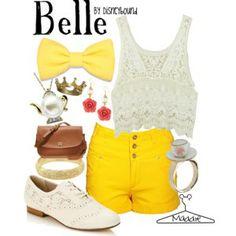 Belle- Disneybound