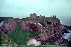 Scotland, Stone haven, Dunnotar Castle.  Jack Corn Photography