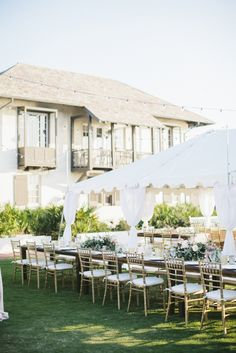 Tented reception with vintage details | http://www.adornmagazine.com/blog