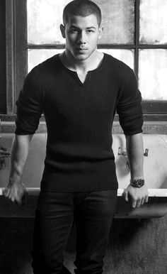 Nick Jonas, one of the stylish Hollywood celebrities owns black as his own. Let's look into 20 times when Nick Jonas rocked his outfits in black. Jonas Brothers, Nick Jonas Pictures, Raining Men, Famous Faces, Man Crush, Gorgeous Men, Beautiful Guys, Celebrity Crush, Sexy Men