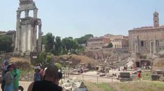 Look Inside Roman Forum and Ancient Roman Ruins in Rome, Italy #Italy #Rome #history #ruins #travel #tourism