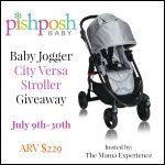 Pishposh Baby Stroller Giveaway ($229 value) Ends 7/30 on PaulaMS' Giveaway Grab Bag Linky #ShareSwapHop - PAULAMS' GIVEAWAYS, REVIEWS, & FREEBIES