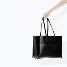 MINIMAL + CLASSIC: SHOPPER BAG WITH POCKET