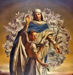 St Maria Goretti, Maria | by *Jeff* St Maria Goretti, Bride Of Christ, Blessed Virgin Mary, Our Lady, Painting, Fictional Characters, Image, All Saints, Angels