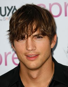 feathered bangs hairstyle men