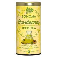Sonoma Chardonnay Iced Tea | This vacation in a glass has a base of Sonoma Chardonnay fine wine grape skins infused with tropical pineapple and sweet peach notes. It's like drinking a glass of wine country sunshine!