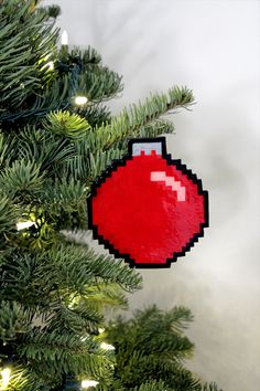 We Made Some DIY 8-Bit Holiday Ornaments - Our Nerd Home