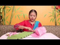 Eco-friendly Ganpati Decoration - Lotus Asan - YouTube