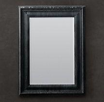 Baroque Weathered Zinc Mirror #RestorationHardware