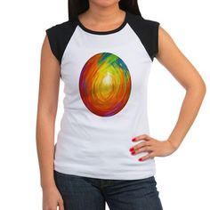 Light at the End of the Tunnel design by Margaret Ann Missman Junior's Cap Sleeve T-Shirt