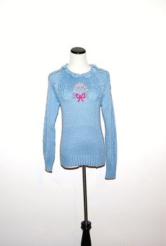 Vintage Sweater Blue by CheekyVintageCloset on Etsy, $24.00