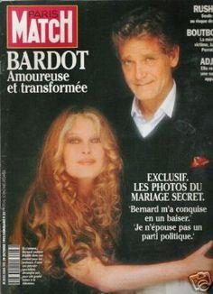 Brigitte Bardot et Bernard d'Ormale