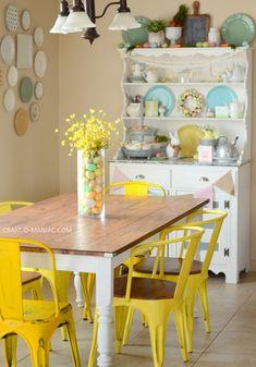 Pastel Easter Hutch - Craft-O-Maniac