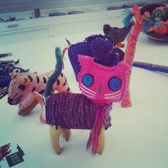 Peluches de artesanía mexicana #peluches #pelucheando
