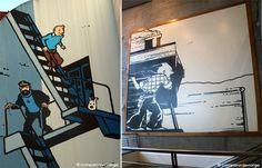 Murales de Tintín en Bruselas