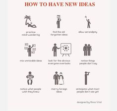 My plan for coming up with new ideas this year (9 of 365 #ThoughtsVisualized)