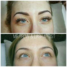 Brow Sculpting & 1:1 Eyelash Extensions