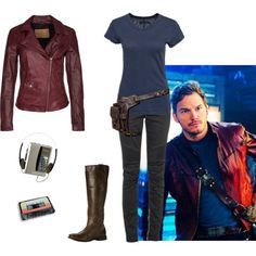 Peter Quill (Star-Lord) Inspired Outfit - Marvel's Guardians of the Galaxy