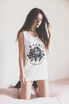 MUCRI ROSE Tank Top