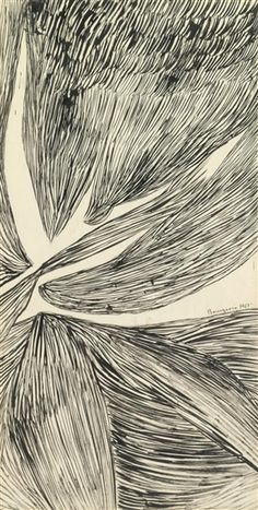 Louise Bourgeois, DRAWING NO. 201