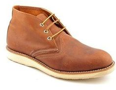 Red Wing Shoes 3140 Men 2e Round Toe Leather Work Boot.