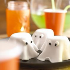 Spooky Ghost Cakes  Easy-to-make ghost cakes that are the perfect dessert for Halloween parties. - parenting.com