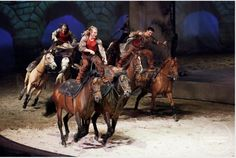 roman riding race from odysseo, the current show from cavalia by shelley paulson photography