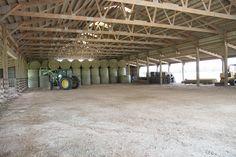 Morton Buildings Hay Storage in Navasota, Texas Building A House Cost, Morton Building, Cattle Farming, Livestock, Show Cattle Barn, Agriculture Photos, Hay Barn, Steel Buildings, Horse Barns