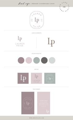Branding and Website Design Logo Marketing, Web Design Tutorial, Branding Kit, Corporate Branding, Brand Identity Design, Brand Design, Design Design, Website Design, Brand Style Guide